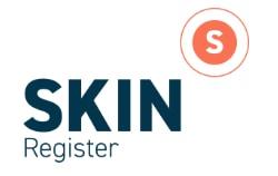SKIN register logo