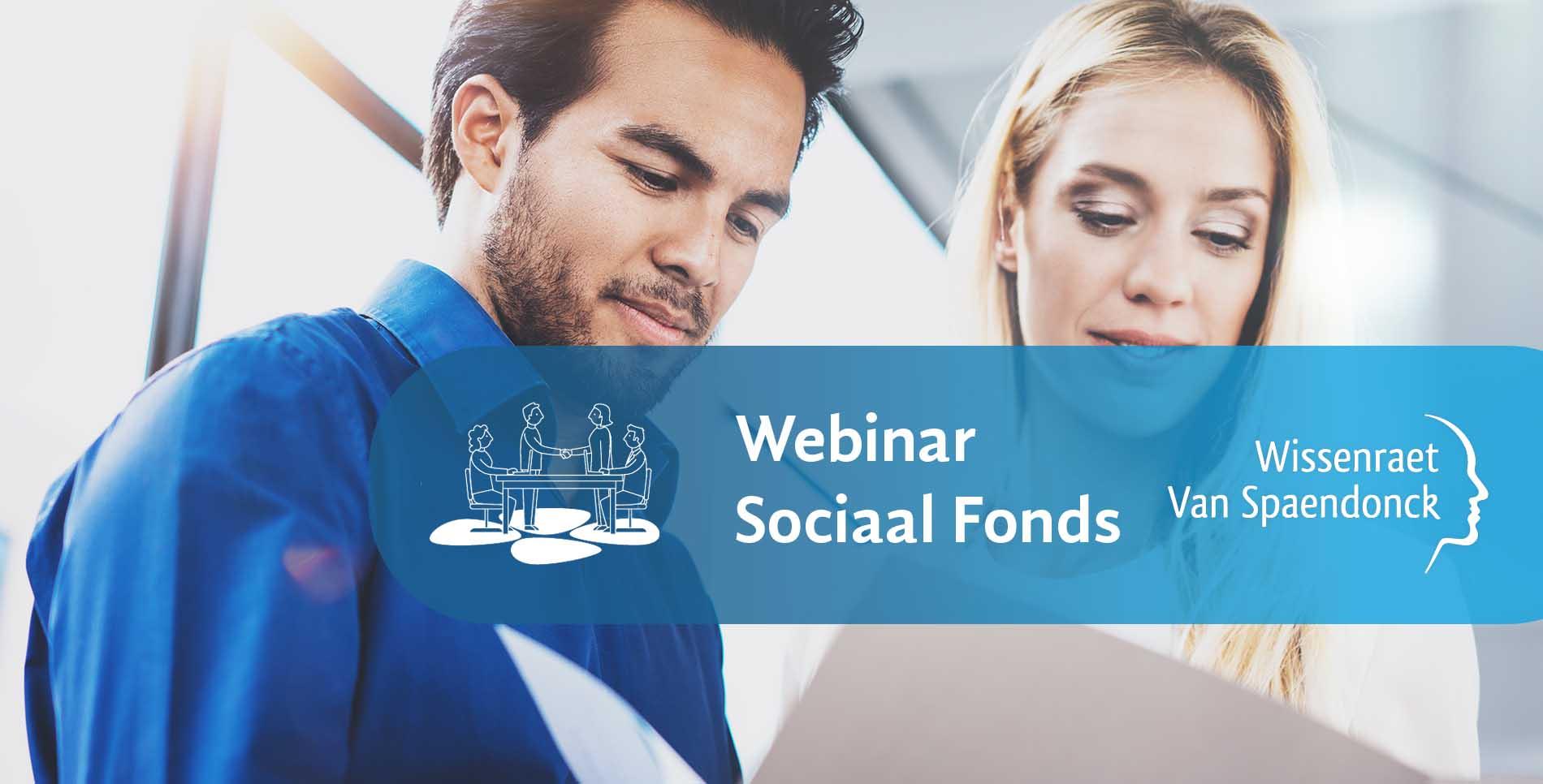Webinar sociaal fonds