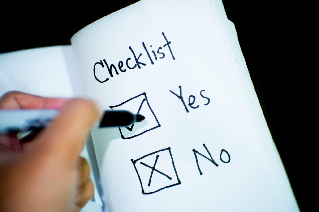 Checklist Wet bestuur en toezicht rechtspersonen
